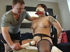 Bounded hot slut that loves fucking sweet dicks