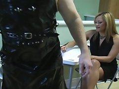 Hot slave gets tied, gagged ad disciplined by her mistress