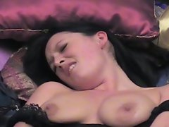 Two horny lesbians eat and vibrate pussy