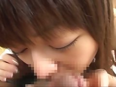 Japanese innocent babe get hard fucked like a wild animals !