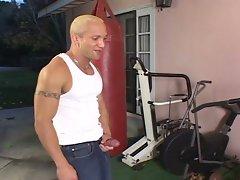 Petite blonde sucks big cock and hardcore fucks
