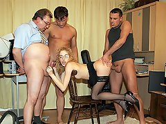 When a new secretary arrives the guys at the office always want to...