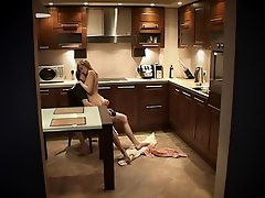 Tonight these two teens were in the kitchen. However, they weren`t...
