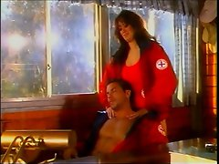 Asia Carrera knows that the work as a beach patrol is taxing, so she...