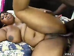 Speculum down to her nasty pussy, long, fat, rigid cock sandwich in...
