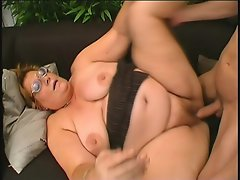 She is one Grandma bitch who loves to get her asshole screwed by huge...