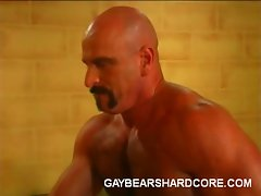 Hairy gays Joe Romeo, Dillon Press, Damien and Patric LeGrange are...