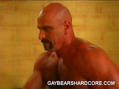 Hairy gays Joe Romeo, Dillon Press, Damien and Patric LeGrange are...