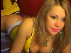 April is a beautiful blonde that likes to perform on webcam and show...