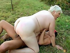 Anna Mary has the nicest looking plump bottom found on a woman in her...