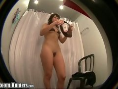 Changing gal spycamed...