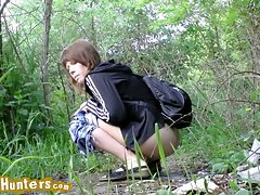 Nubile on piss cam...