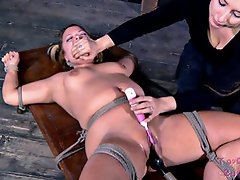 Sammi Sui has a talent as a squirter. It is surprising that she does...