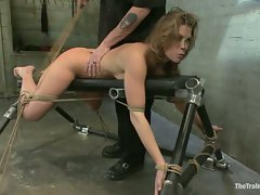 Ariel X Suffers Beautifully in Tight Bondage and Intense Torture...