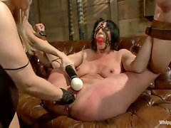 Sassy college student dominates her older attorney with heavy...