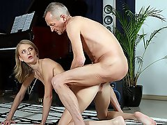 Paul has started a new job as a piano teacher and Kate, his first...