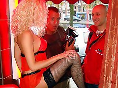 A german on the hunt for a blonde chick with some big silicone boobs!...