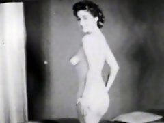 In the first scene of this vintage black and white movie we see a...