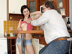 When Tim comes home he finds his new au pair in the kitchen, a young...