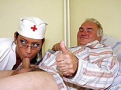 Albert is in hospital and he is getting pretty excited by a nurse who...
