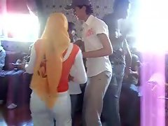 Arab Hijabi Whore Dancing 7