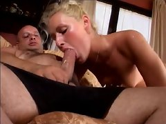 Old Italian fucks beautiful girl - Part 2
