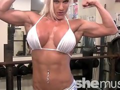 Ashlee Chambers - SheMuscle - PornStar Workout