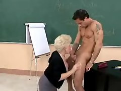 Grandma Sex Teacher
