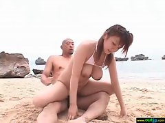 Hot Asian Girl Get Hard Bang In Wild Place vid-22