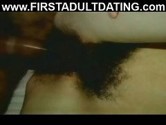 Very hairy mature amateur fucking on sex date