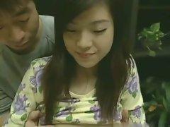 Asian girl has amazing sex