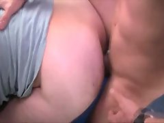 Filthy horny homos suck and fuck on moving autobus