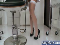 At Doctor Office Girl Get Hard Sex vid-09