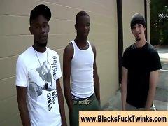 Amateur interracial gays get hot