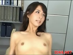 Japanese AV Model petite Asian babe