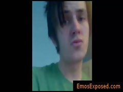 Selfshot of cute emo teenage gay boys