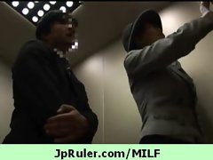 Japanese MILF getting fucked on tape clip 15