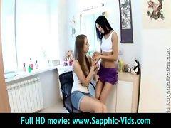Sexy Young Lesbian Babes Enjoy Oral Sex - Sapphic Erotica 04