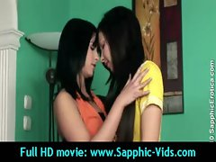 Sexy Young Lesbian Babes Enjoy Oral Sex - Sapphic Erotica 30