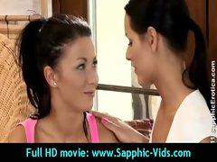 Sexy Young Lesbian Babes Enjoy Oral Sex - Sapphic Erotica 28