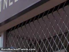 Jerry Friday, Mickey Shut and Kamin gay video