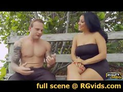 RGvids.com presents: Kiara Mia is Dressed to Spill Some Semen!