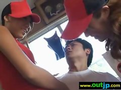 Asians Japanese Girls Get Nailed In Public vid-34