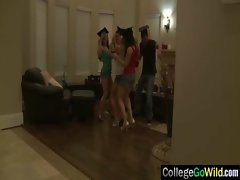 At Wild Party Teen Sluts Girls Get Sex vid-33