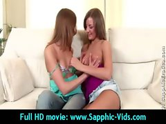 horny Young Lesbian Babes Enjoy Oral Sex - Sapphic Erotica 30