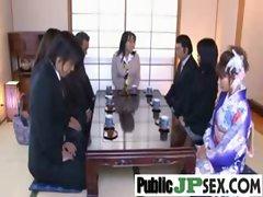 Asians Girls Get Hard Banged In Public vid-17