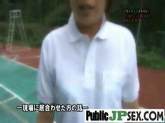Asians Girls Get Hard Banged In Public vid-33
