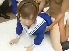 japanese uniform teen analfuck