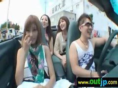 Asians Japanese Girls Get Nailed In Public vid-10