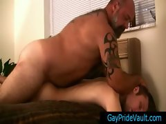 Fat bear humping his tiny little gay friend By GayPrideVault gay boys